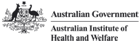 The Australian Government Department of the Australian Institute of Health and Welfare